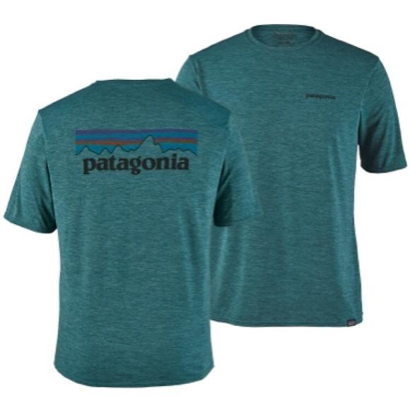 8ab1dda0e Patagonia Shirts | New Capilene Cool Daily Graphic Tshirt | Poshmark